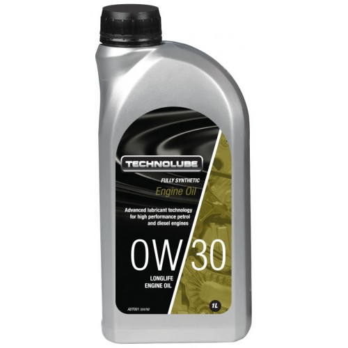 ADT001 Technolube Fully Synthetic 0W-30 Engine Oil - 1L