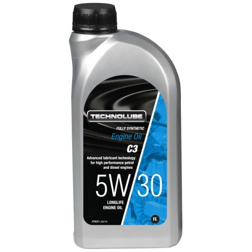 ATN001 Technolube Fully Synthetic 5W-30 C3 Engine Oil - 1L