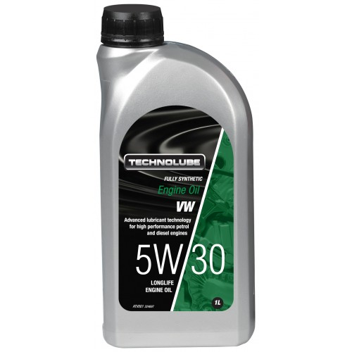 ATV001 Technolube Fully Synthetic 5W-30 VW Engine Oil - 1L