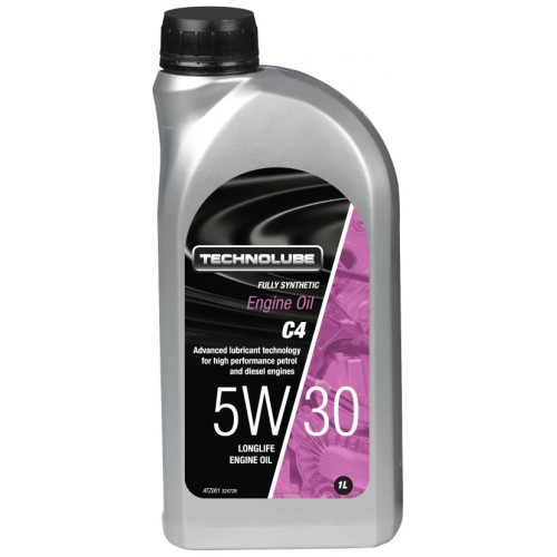 ATZ001 Technolube Fully Synthetic 5W-30 C4 Engine Oil - 1L
