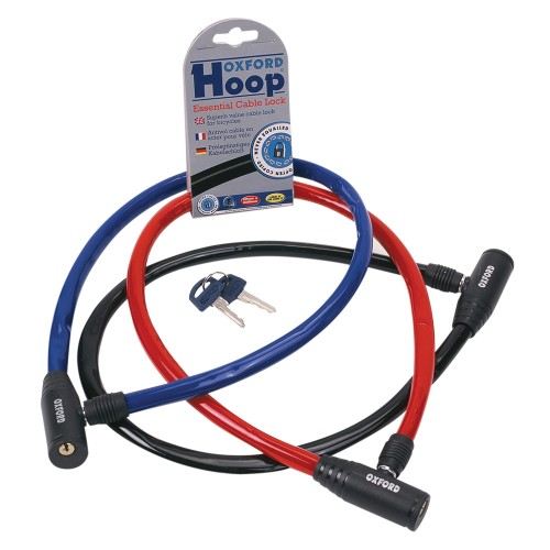 OF226 Oxford Red Hoop Cable - 600x12mm